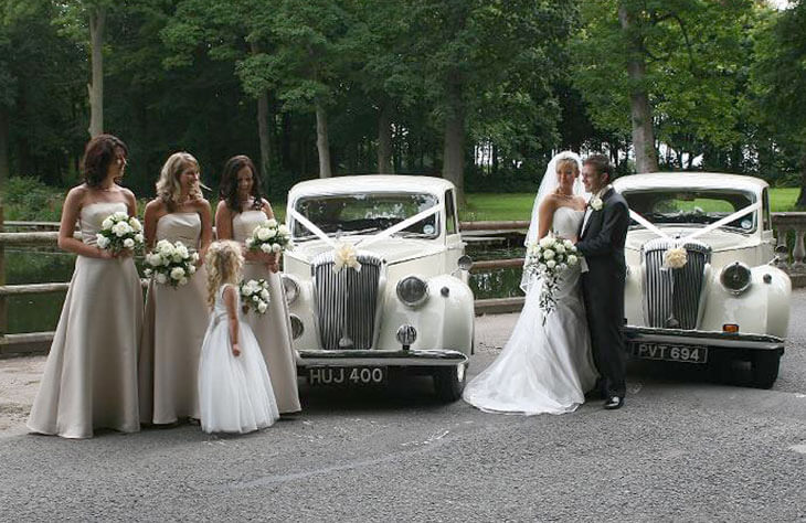 Daimler DB18 Saloon Wedding Car