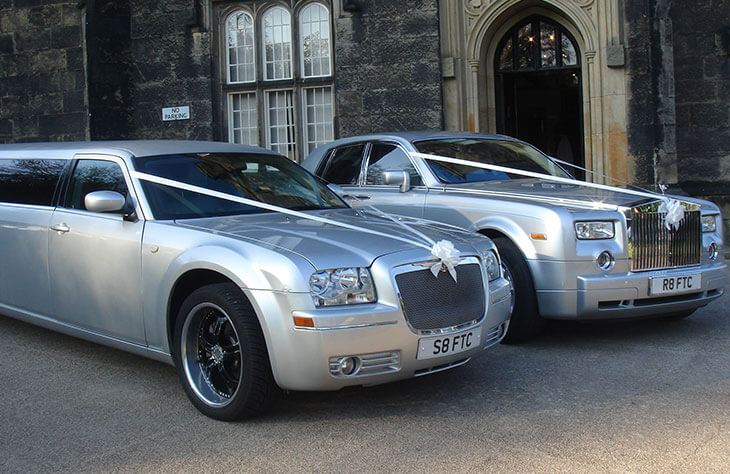 Chrysler Silver Baby Bentley Limo